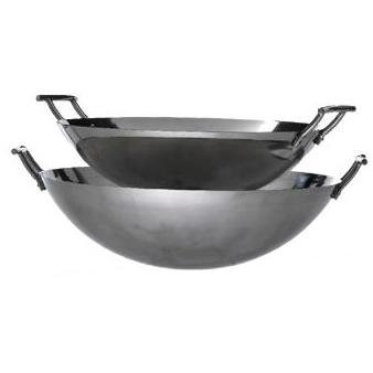 Eastman Outdoors 37203 22-inch Deep-Dish Stainless Steel Wok