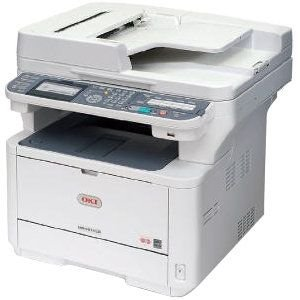 Okidata 62439201 Oki Mb 491+Lp Mfp - Multifunction Printer - B/W - Led - Legal (8.5 In X 14 In)/A4 (8.25 In X 11.7 In) (Original) - 216 X 1321 Mm (Media) - Up To 40 Ppm (Copying) - Up To 47 Ppm (Printing) - 350 Sheets - 33.6 Kbps - Usb 2.0, Lan, Usb Host