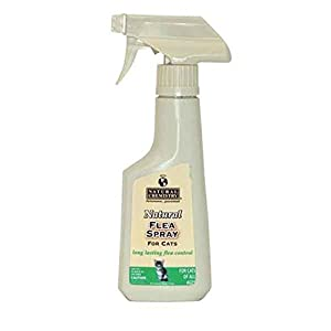 Natural Flea Spray for Cats, 8-Ounce