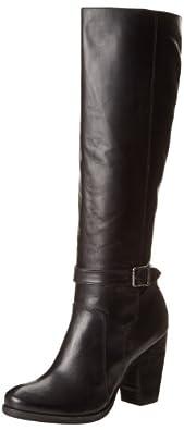 FRYE Women's Patty Tall Riding Boot,Black,5.5 M US