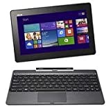 "ASUS Transformer Book T100TA-H1-GR 10.1"" Detachable 2-in-1 Touchscreen Laptop, 32GB+500GB (OLD VERSION)"