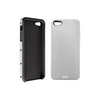 iPhone5専用 SeeJacket Alu for iPhone5 アルミ製ハードケース ライトシルバー 0813-SJA-P5-SL