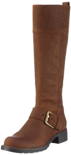 Clarks Womens Orinoco Jazz Boots Brown Leather 7 UK