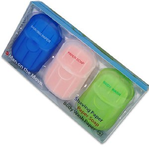Paper Travel Soap Kit - Man on the Move