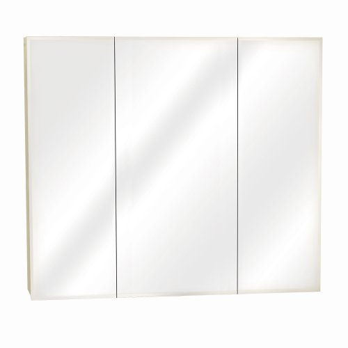 Zenith Products M36 Beveled Tri-View Medicine Cabinet front-566656