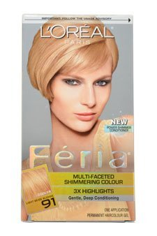 loreal-feria-multi-faceted-shimmering-color-3x-highlights-91-light-beige-blonde-cooler