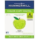 Hammermill Color Copy Paper, 100 Brightness, 28lb, 8-1/2 x 11, Photo White, 500/Ream