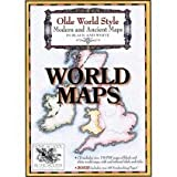 Olde World Style Modern and Ancient Maps in Black and White