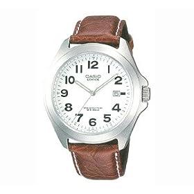 【クリックでお店のこの商品のページへ】[カシオ]CASIO 腕時計 スタンダード 皮バンドアナログモデル EF-120L-7BJF メンズ: 腕時計通販