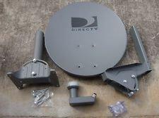 """DIRECTV 18"""" Satellite Dish Antenna Dual LNB"""