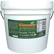 Tropical Traditions Green Label Organic Virgin Coconut Oil - 1 gallon