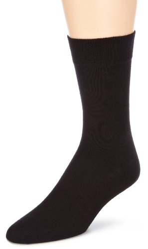 Hudson Herren Socke 004491 ONLY SOCKE, Gr. 47-50, Schwarz (Black 0005)