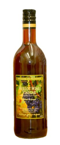 Domaine de Provence Merlot Wine Vinegar, 25 Ounce