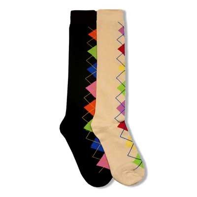 ... ladies knee socks this set of 2 pair of socks contains 2 pair of high