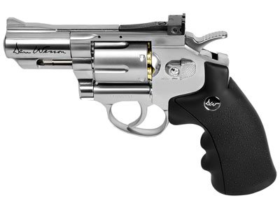Details for Dan Wesson 25 Co2 Bb Revolver Silver Air Pistol from Dan Wesson