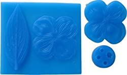 First Impressions Molds Silicone Mould & Veiner Set - Dogwood