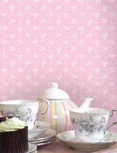 Home of Colour Lym Wallpaper - Pink by New A-Brend