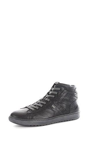 Nero Giardini A604360U Sneakers Uomo Pelle Nero Nero 41