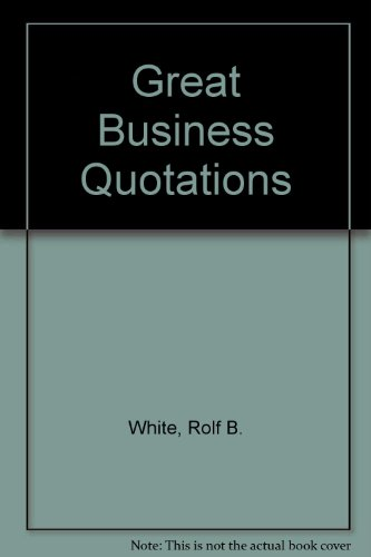 Great Business Quotations