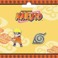 Naruto: Pins - Naruto & Konoha Logo - Buy Naruto: Pins - Naruto & Konoha Logo - Purchase Naruto: Pins - Naruto & Konoha Logo (Great Eastern, Toys & Games,Categories,Pretend Play & Dress-up,Costumes,Accessories)