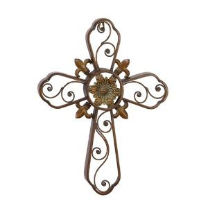 Deco 79 Metal Wall Cross 18