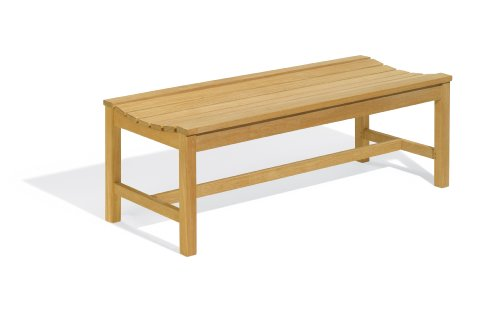 Oxford Garden 4-Foot Shorea Backless Bench