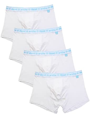 fb4d1797ae David Archy Men's 4 Pack Micro Modal Separate Pouch Trunks
