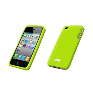 Apple iPhone 4 / iPhone 4G Empire Silicone Case Cover Protector, Neon Green