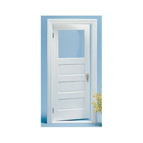 Dollhouse 3-PANEL 1-LIGHT DOOR KIT (Dollhouse Doors And Windows compare prices)