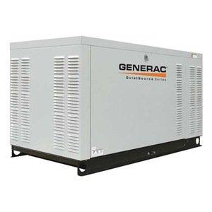 Generac Qt02224Jnax Quietsource Liquid-Cooled 2.4L 22Kw 120/240 Volt 3-Phase Natural Gas Aluminum Generator