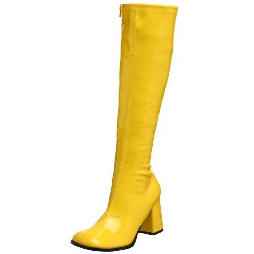 Pleaser Gogo300/Yl - Stivaletti Donna, Giallo (Yellow), 47 EU