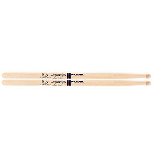 Promark American Hickory TXDC17W Scott Johnson Marching Drumsticks