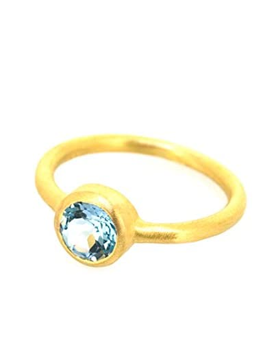 Melin Paris Anillo Blue Topaz