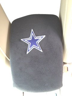 Vw Golf 2007-2013 Suv Truck Auto Center Armrest Console Cover With Dallas Cowboy Star Patch