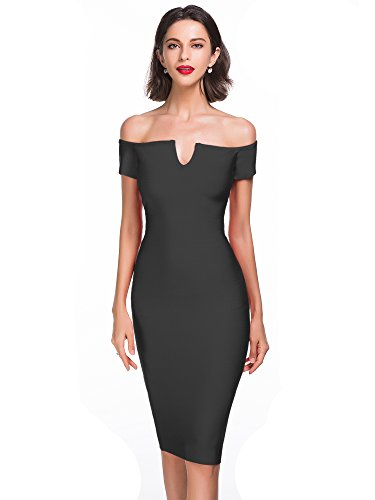 alice-elmer-womens-rayon-strapless-knee-length-off-shoulder-bandage-vestido-black-m
