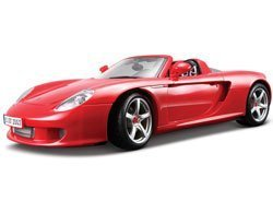 Maisto 1:18 Scale Red Porsche Carrera GT by Maisto