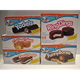 Drake's Fall/winter Bundle, (3)- Ring Ding, (3)- Devil Dogs, (3)- Yodels, (3)- Funny Bones, (3)- Coffee Cakes, 15 Total Boxes of Drake's Cakes!