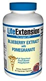 Life Extension Blueberry Extract with Pomegranate, Vegetarian Capsules, 60-Count