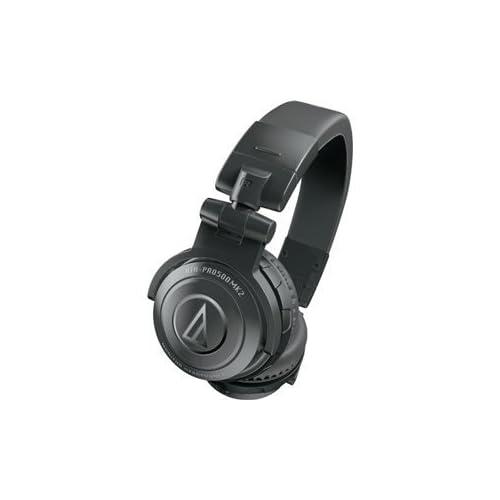 audio-technica DJヘッドホン ATH-PRO500MK2 BKの写真01。おしゃれなヘッドホンをおすすめ-HEADMAN(ヘッドマン)-