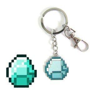 Minecraft Diamond Keychain Keyring by Minecraft Creeper