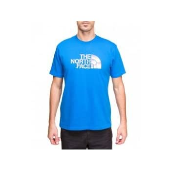 THE NORTH FACE Chrome cotton Tee shirt manche courte homme t0anxf Bleu