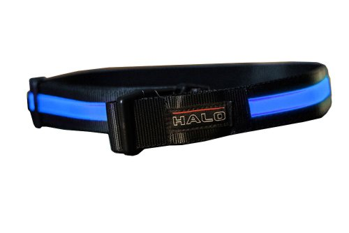 HALO Belt | Bright LED Fibre-Optic Safety Belt | Be Seen, Be Safe!