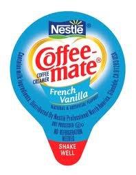 Coffee Mate French Vanilla Cream Liquid Creamer 180-.38-Ounce Liquid Creamers (Special Club Pack)