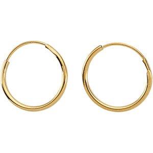 Jewelry Locker Youth Endless Hoop Earrings