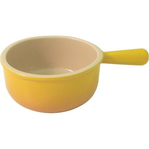 Le Creuset Stoneware 16-Ounce French Onion Soup Bowl, Dijon