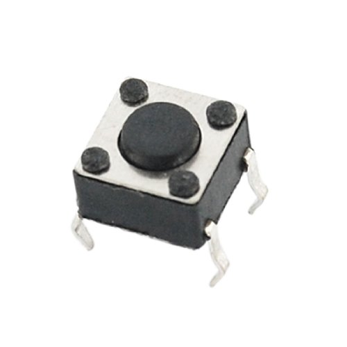 10 Pcs 6Mm X 6Mm X 6Mm Panel Pcb Momentary Tactile Tact Push Button Switch Dip