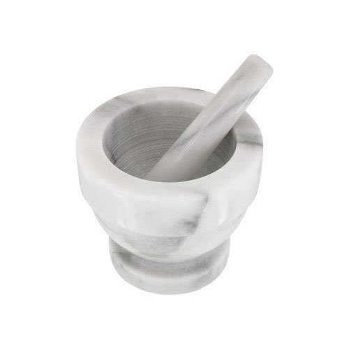 Horwood H355 13 x 11.5 cm Mortar and Pestle, White