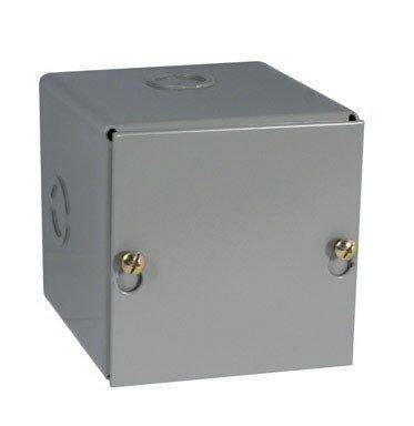 "Raco Pull Box Screw Cover 4 ""X4 ""X4 "" Steel Gray Bulk"