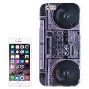 Retro Radio Pattern TPU Case for iPhone 6 Plus