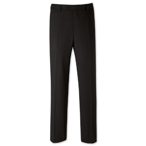 Charles Tyrwhitt Black classic fit travel suit trouser (38W x 32L)